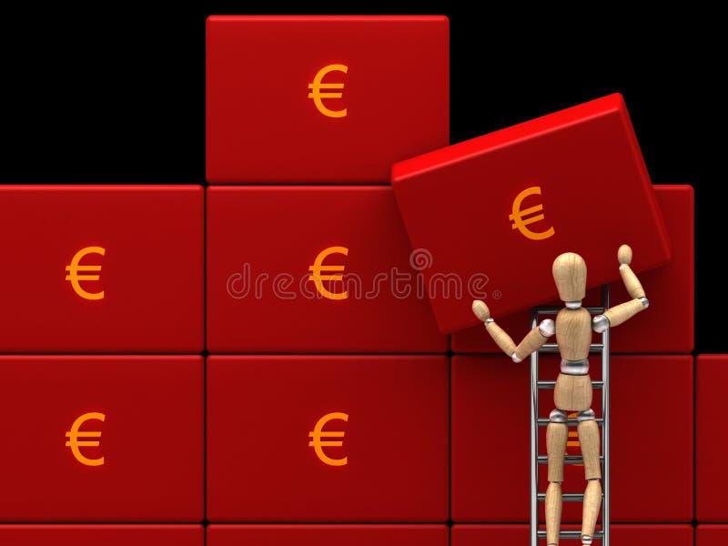 Sauf l'argent images libres de droits