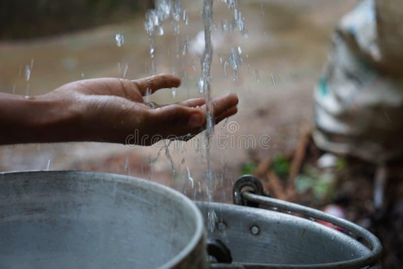 Sauf l'eau photo libre de droits