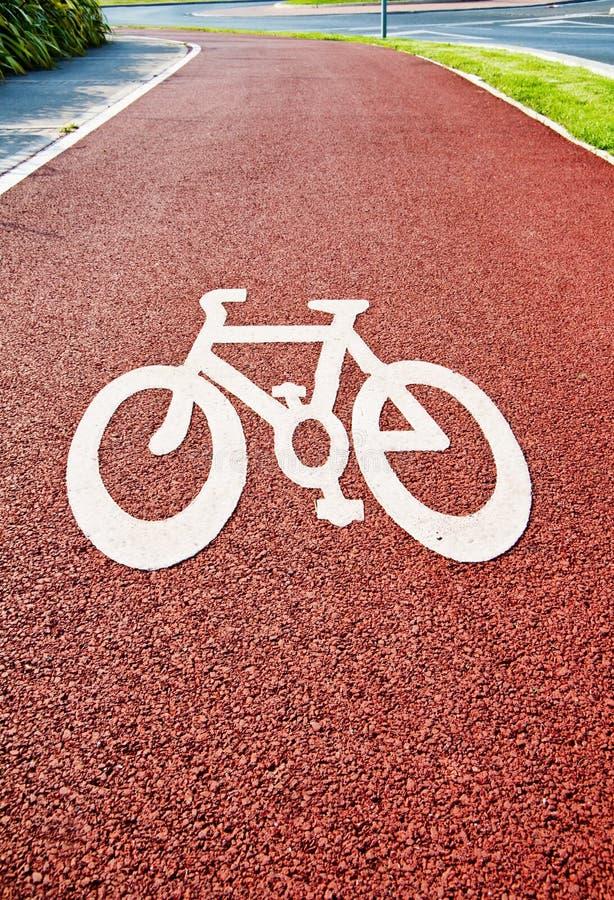 Sauf notre planète verte - faites un cycle pour fonctionner ! photo libre de droits