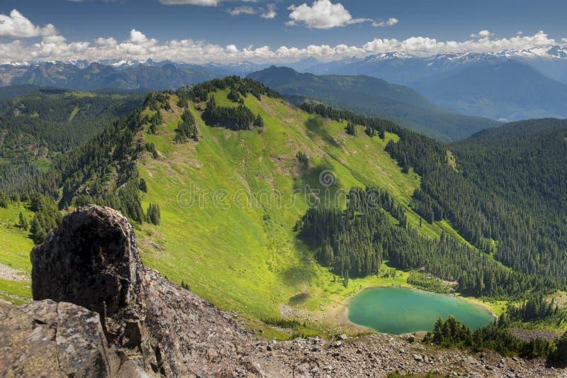 Sauk山,华盛顿,美国 免版税库存图片