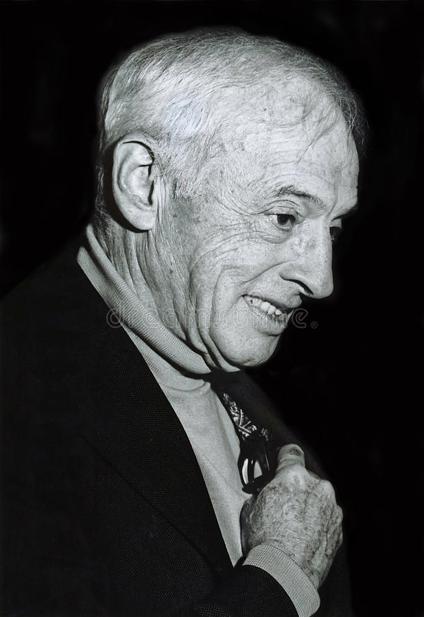 Saul Bellow fotografia de stock royalty free