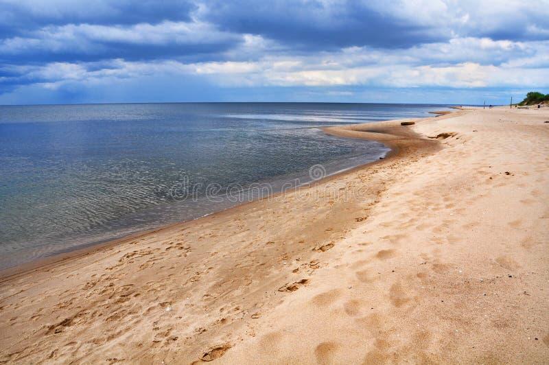 Saulkrasti, Baltic Sea, Latvia. royalty free stock image