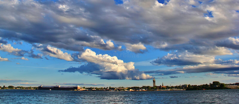Sault Ste Marie, Ontario, Canada fotografie stock libere da diritti