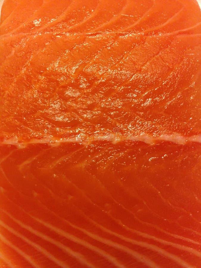 Saumons crus de catégorie de sushi photo libre de droits