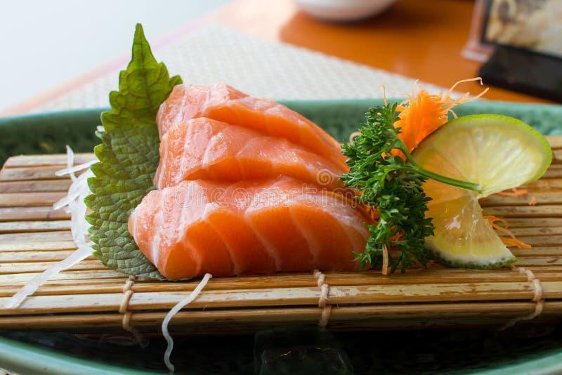 Saumons frais Salmon Sashimi photos stock
