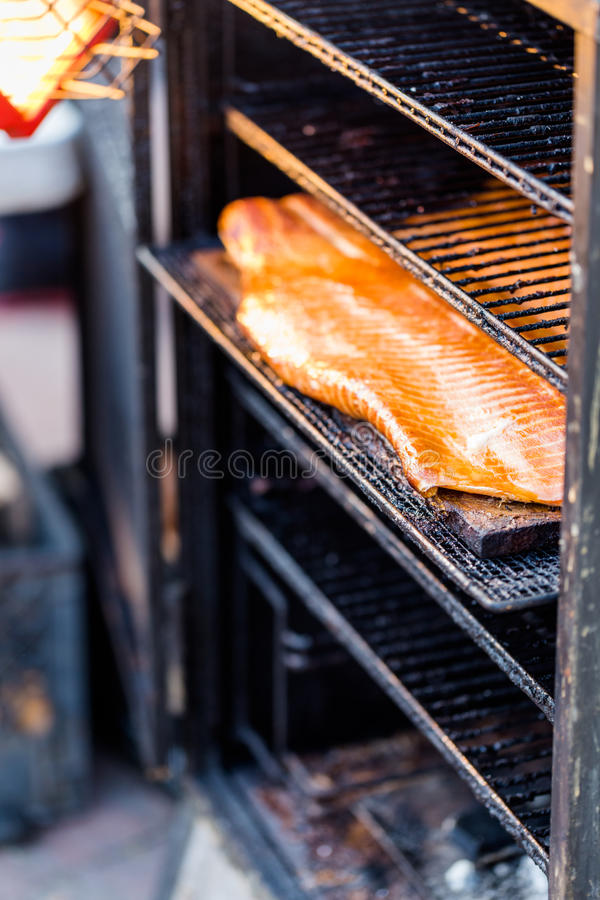 Saumons fumés photos stock