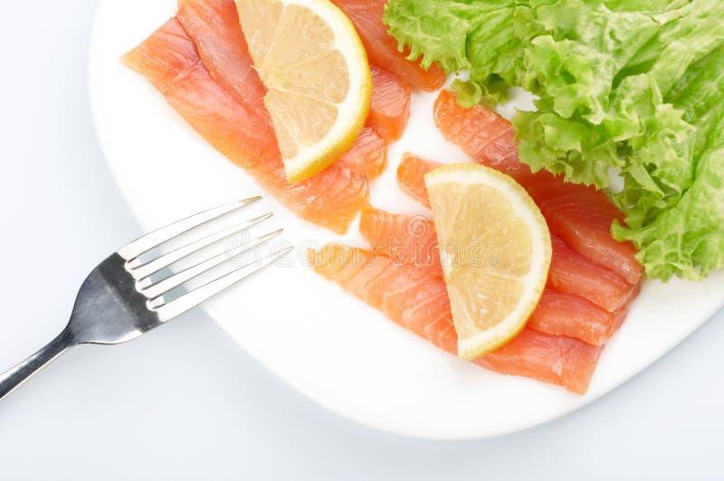 Saumons salés photo stock