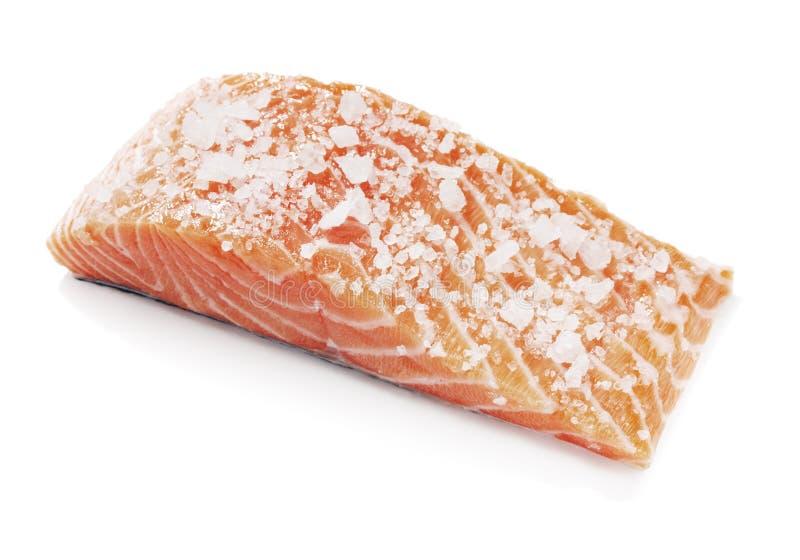 Saumons salés photographie stock libre de droits