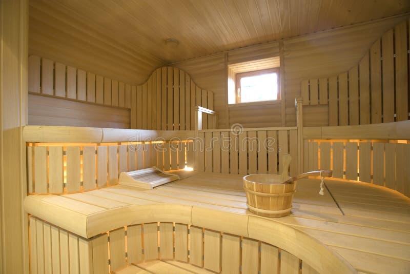 sauna стоковое изображение