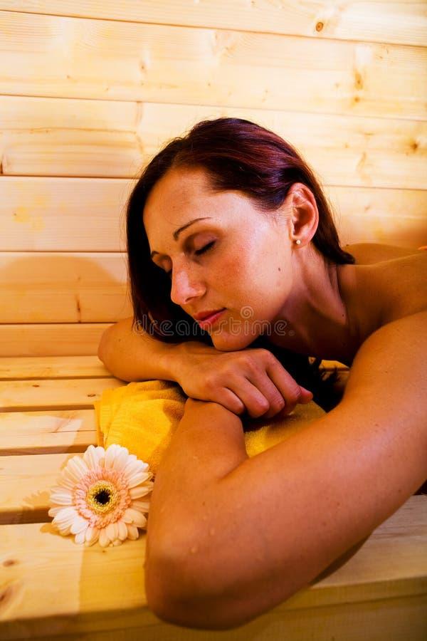 Sauna 4 images stock