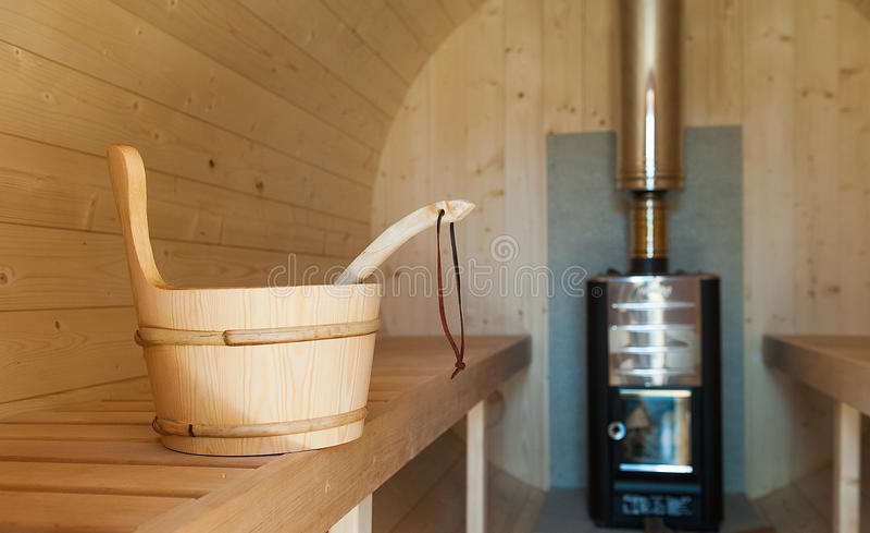 sauna zdjęcia stock