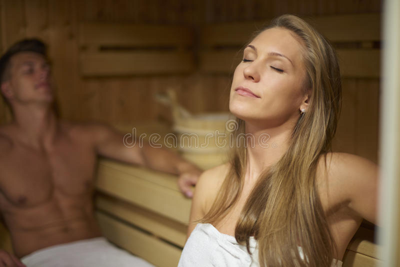 sauna photos libres de droits