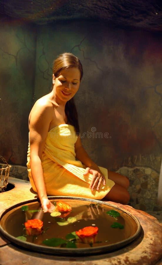 Sauna foto de stock royalty free