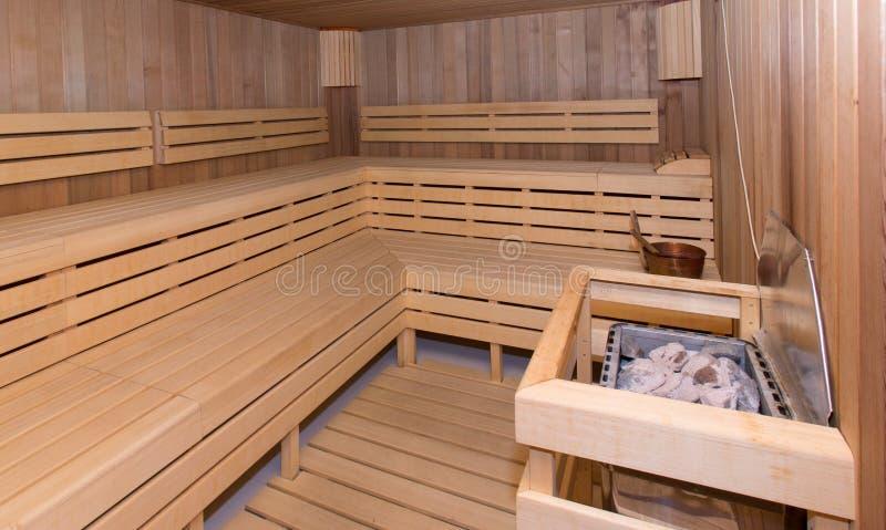 sauna stock foto