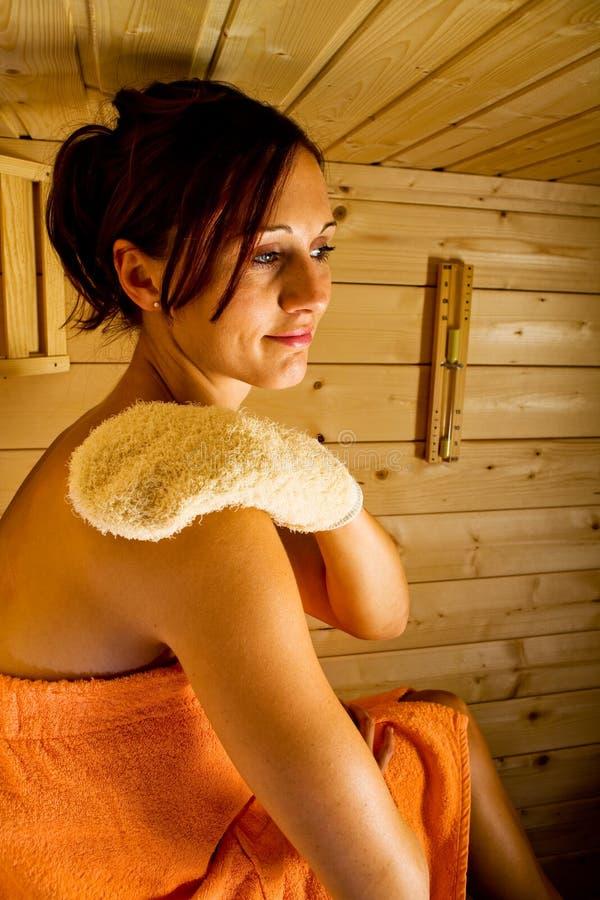 Sauna obrazy stock