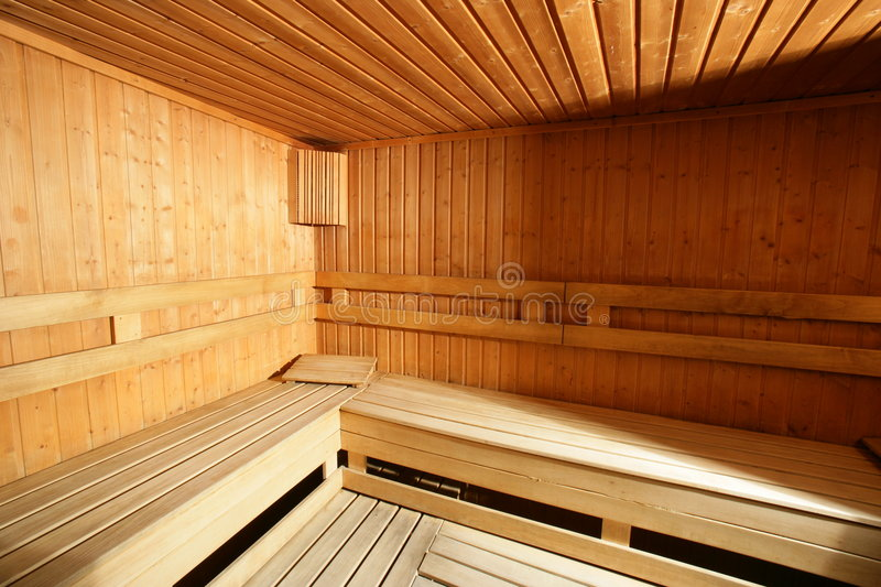 Download Sauna photo stock. Image du grand, santé, finlandais, fitness - 8653372