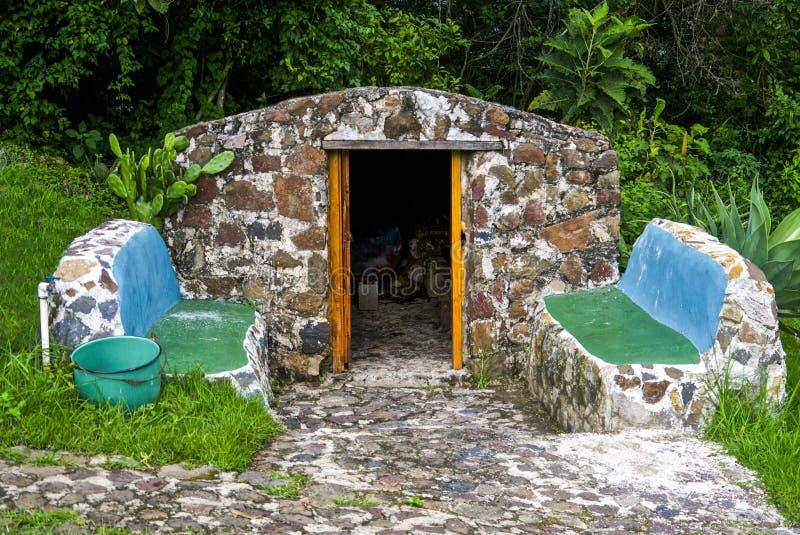 Sauna de pedra imagem de stock