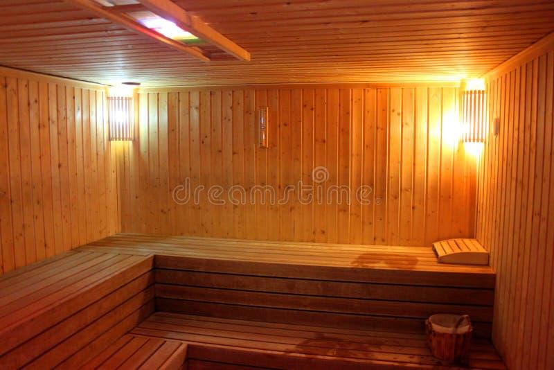 Sauna finlandesa fotos de stock royalty free