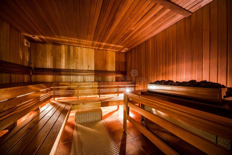 Sauna finlandesa imagens de stock royalty free