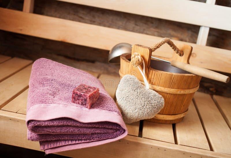 sauna finnish obraz stock