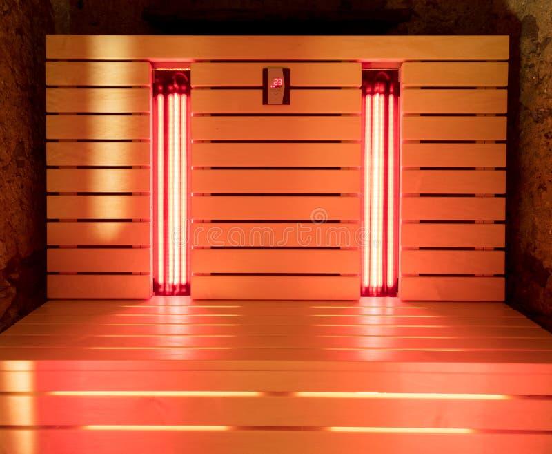 A sauna infravermelha foto de stock royalty free