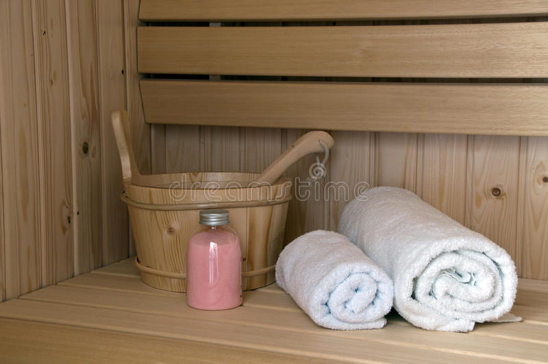 Download Sauna interior stock photo. Image of indoors, enjoyment - 21772244
