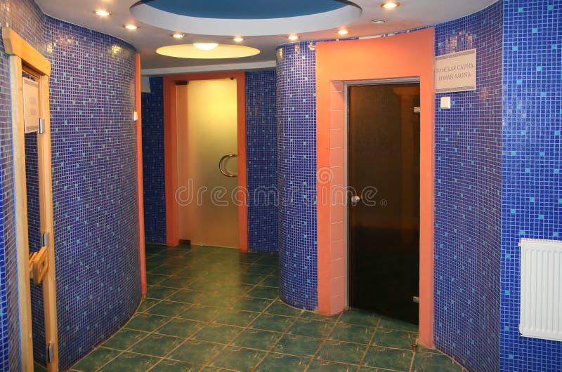 sauna komory zdjęcie royalty free