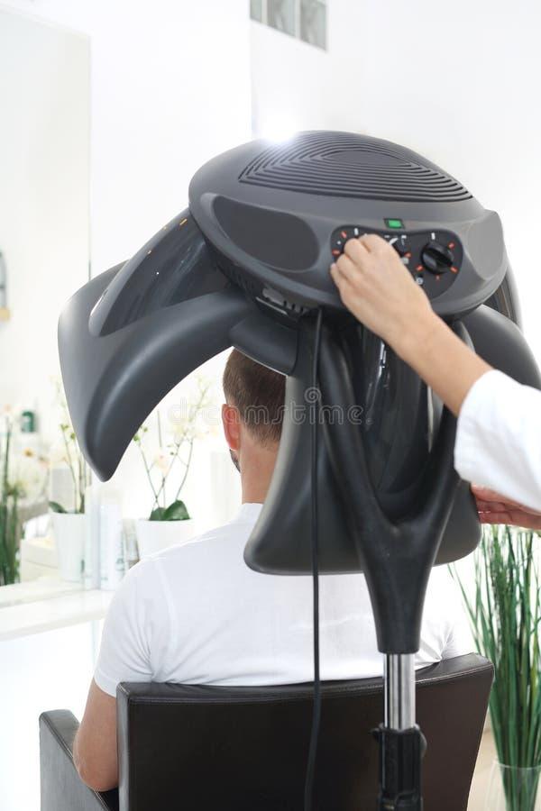 Sauna per capelli Cura di capelli immagine stock libera da diritti