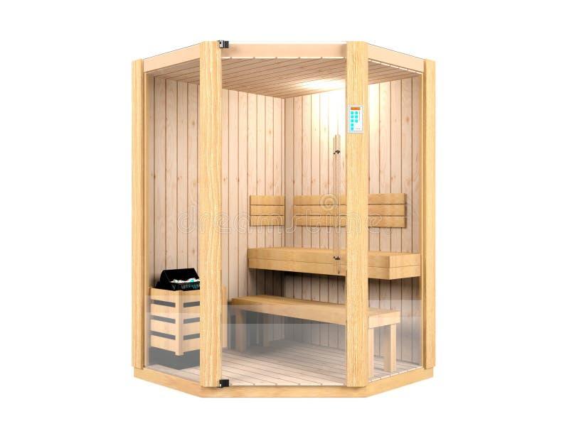 Sauna pokój ilustracji