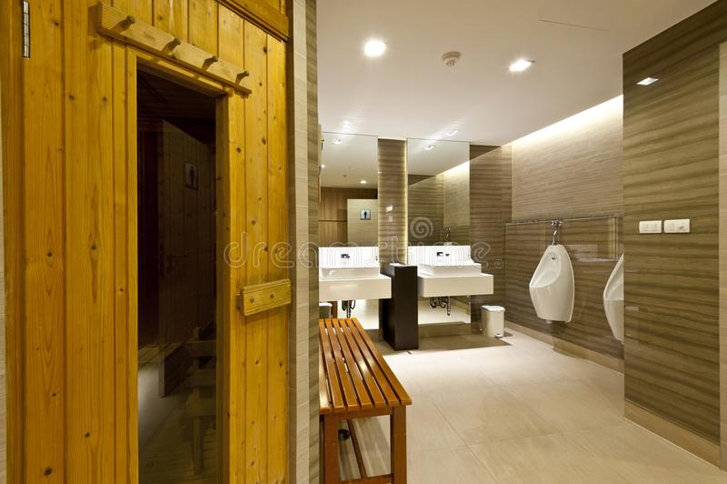 Sauna pokój zdjęcia stock