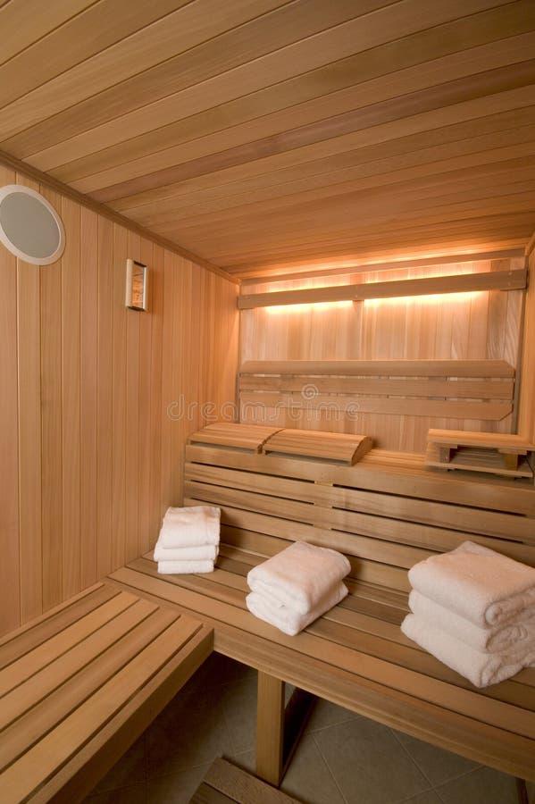 Sauna sur mesure photos stock