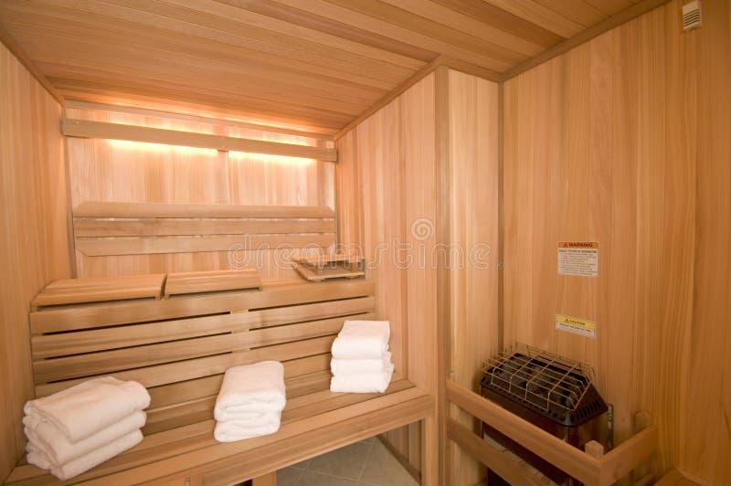 Sauna sur mesure image stock