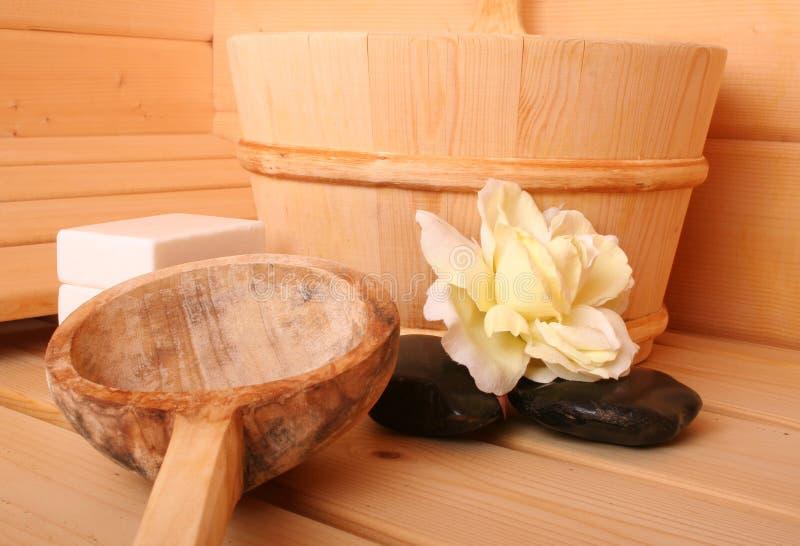 Sauna VI fotografia de stock royalty free