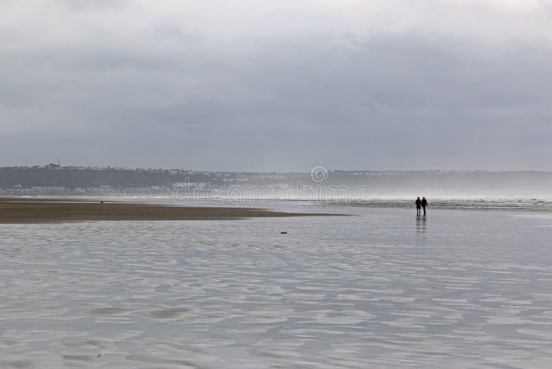 Saunton sander strand, Devon arkivbilder