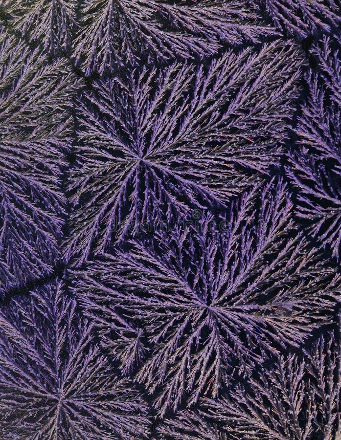 Saures Kristall-Muster lizenzfreies stockfoto