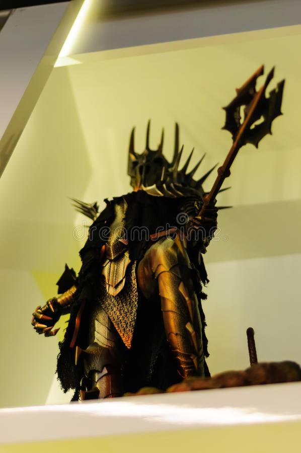 Sauron Lord of the Rings stock images