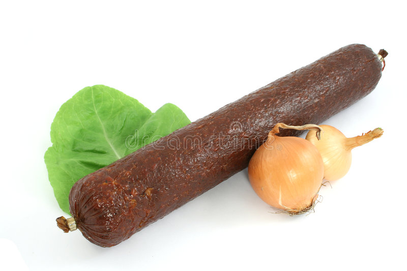 Sausage royalty free stock photography