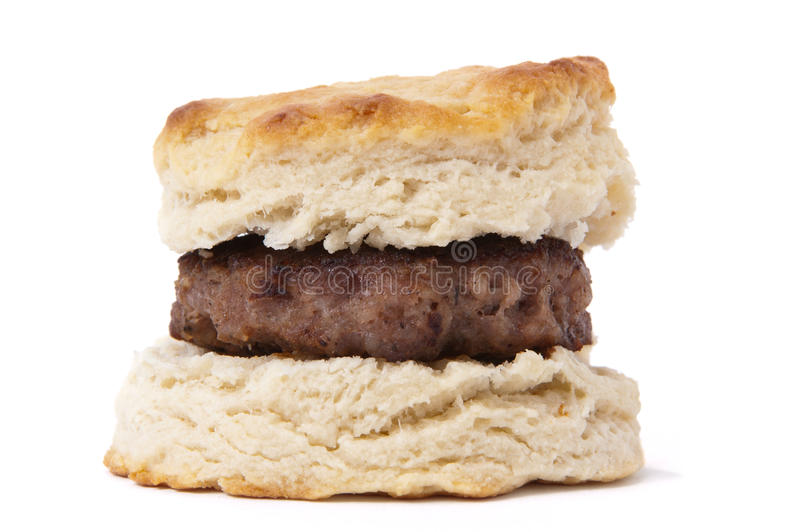 Download Sausage biscuit stock image. Image of patty, food, sausage - 22393755