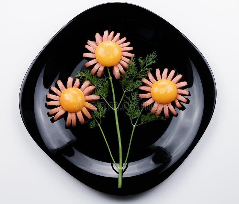 Sausage flower stock image