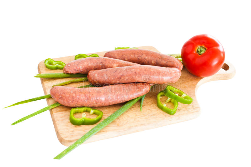 Download Sausage Isolated Royalty Free Stock Images - Image: 15745149