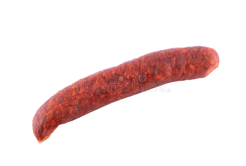 Sausage isolated royalty free stock images