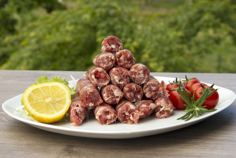 Sausage stock images