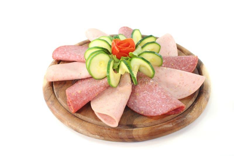 Sausage Platter stock images
