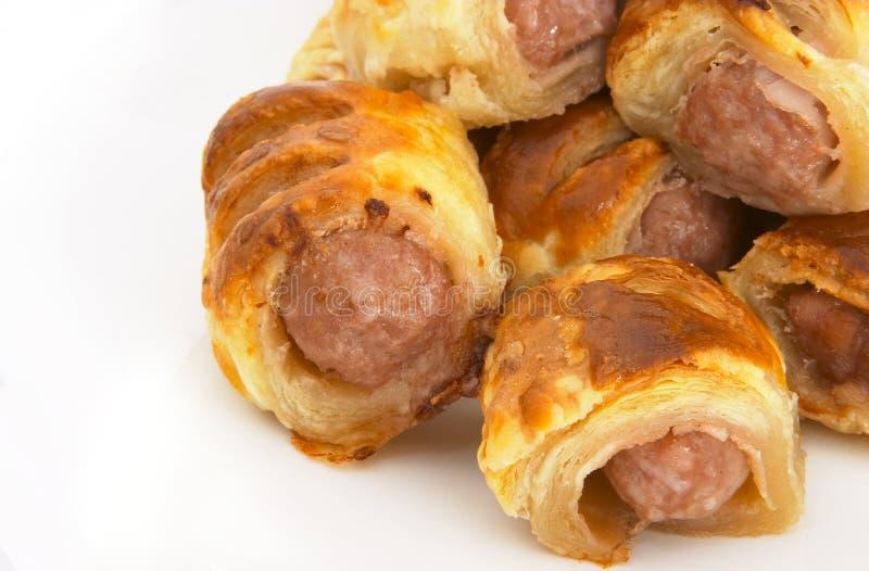 Download Sausage rolls 5 stock photo. Image of recipe, bake, sausage - 195704