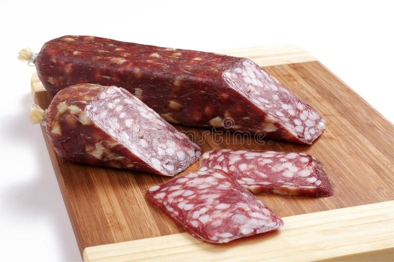 Sausage smoked royalty free stock images