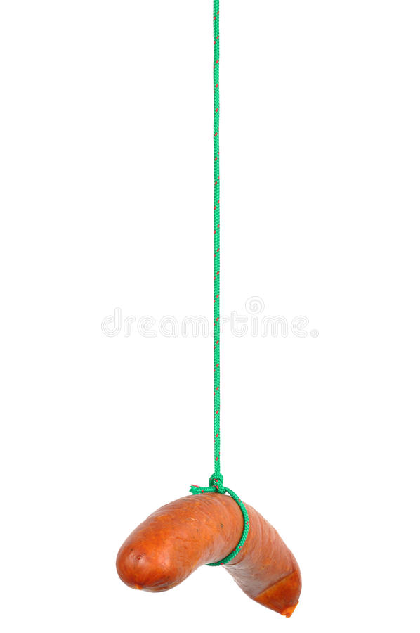 Download Sausage On A String Royalty Free Stock Photos - Image: 15897608