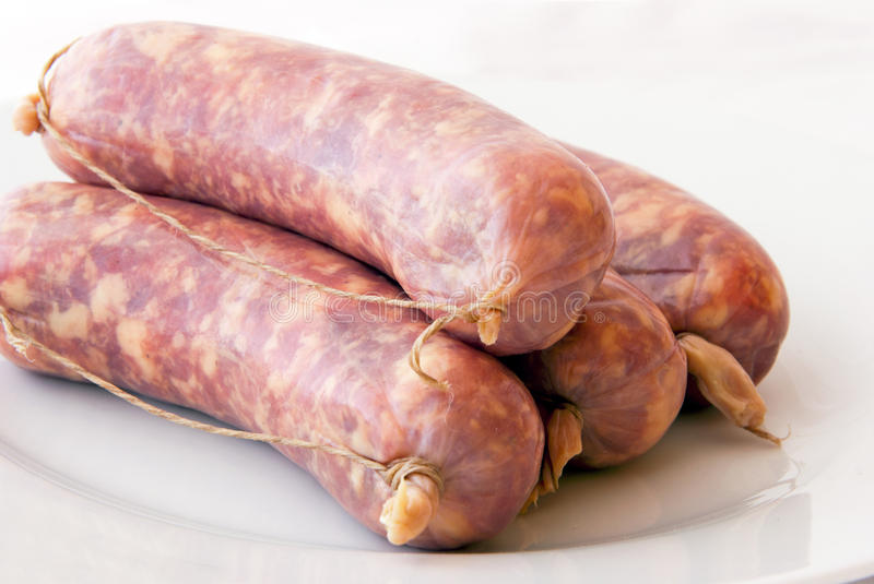 Download Sausages stock image. Image of lunch, meat, sausage, grill - 23700041