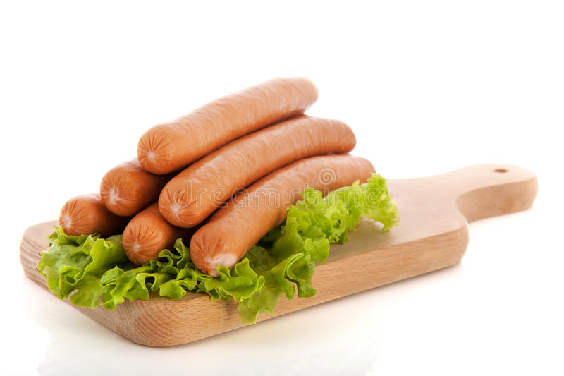 Download Sausages for hot dogs stock photo. Image of pile, coney - 28885194