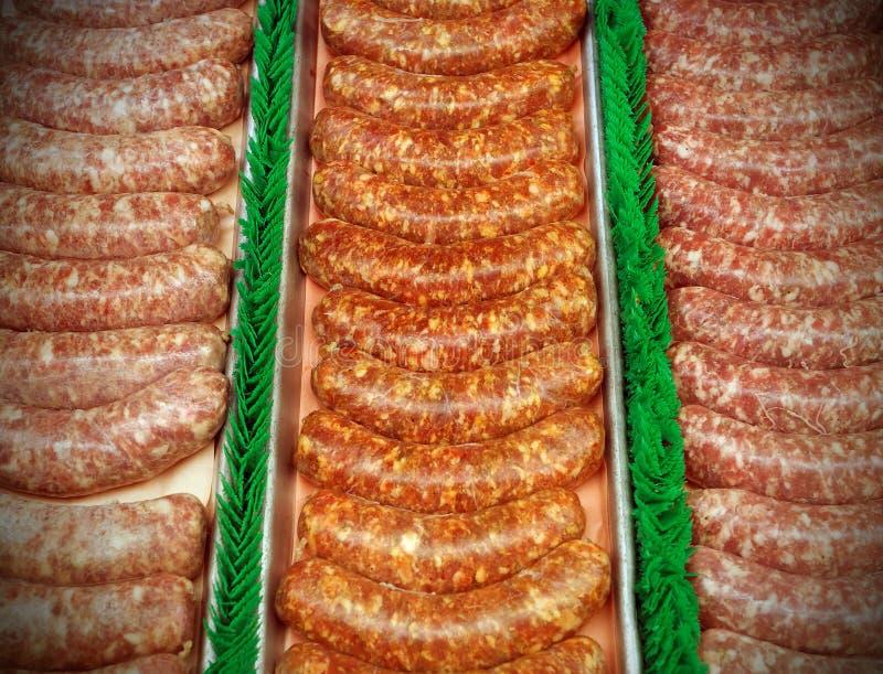 Download Sausages stock image. Image of pork, meat, food, arranged - 32294429