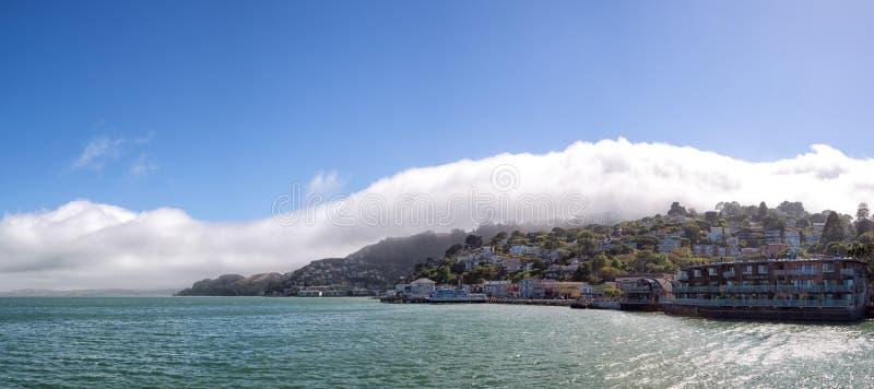 Sausalito,加利福尼亚,美国 免版税图库摄影